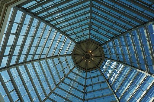 Glass canopy in Okc