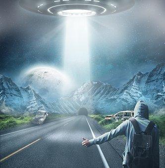 Ufo, Alien, Alie, Futuristic, Science