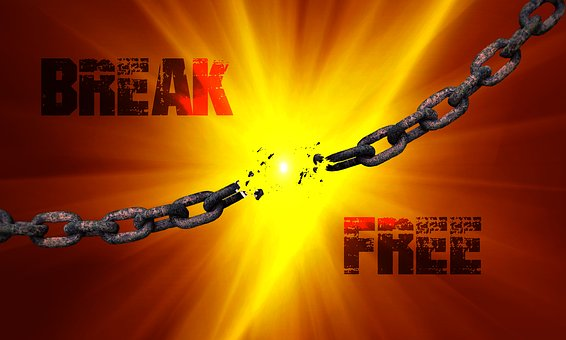 Chain, Broken, Broken Chain, Link, Break