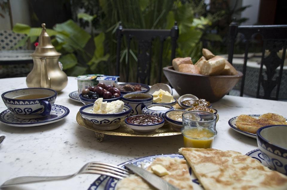Souvent Photo gratuite: Petit Déjeuner, Marocain, Maroc - Image gratuite  QZ35