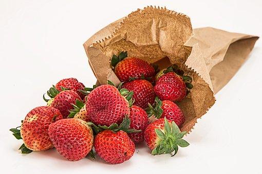 苺, 新鮮な果物, デザート, 赤, 健康, ダイエット, ベリー, 菜食主義者