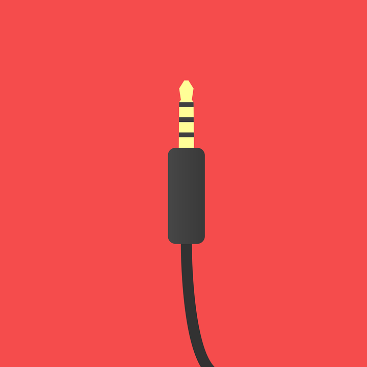 オー, ケーブル, 音楽, 携帯電話, ラジオ, オートラジオ, 自動, プラグ, ヘッドフォン