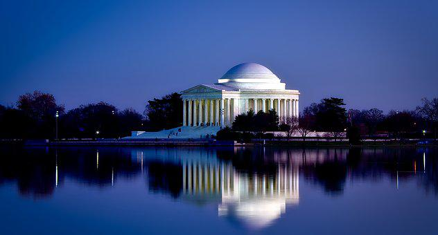 Jefferson Memorial, Washington Dc, C