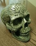 skull, figurine, decoration