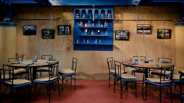 무료 사진: 레스토랑, 다 이닝 테이블, 식당, 테라스, 야외, 커버 ...