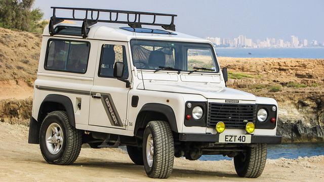 Free Photo Land Rover Defender Car Off Road Free