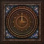 clock, victorian
