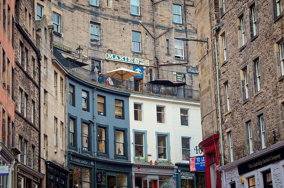 Edinburgh Victoria Street Old Town 183 Free Photo On Pixabay