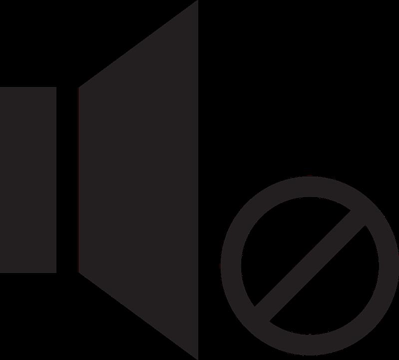 Stumm Icon Lautsprecher · Kostenlose Vektorgrafik auf Pixabay