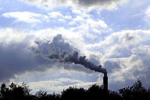 Cheminée, Fumée, Industrie, La Pollution