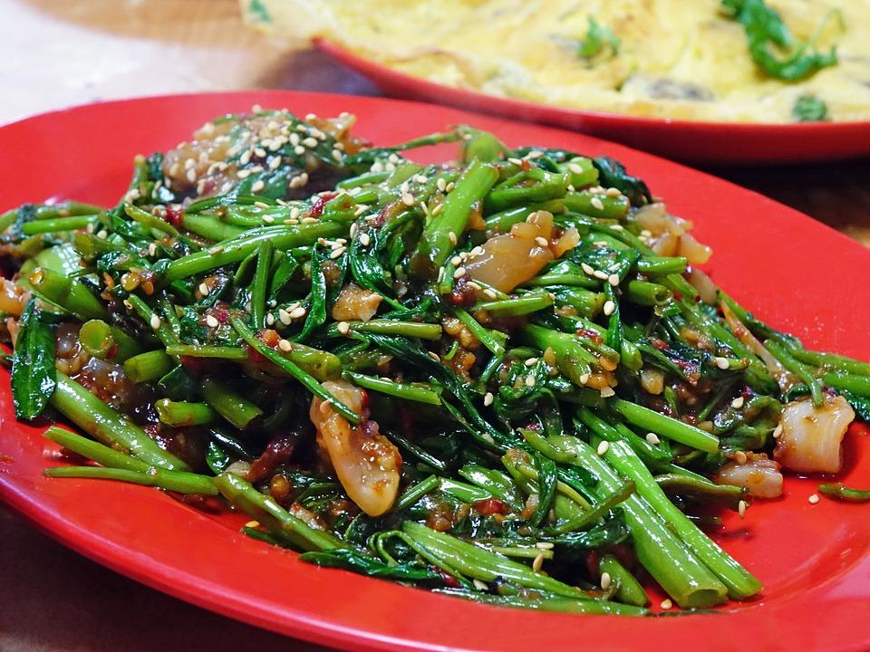 Spinacio D'Acqua, Kangkong, Peperoncino Sambal