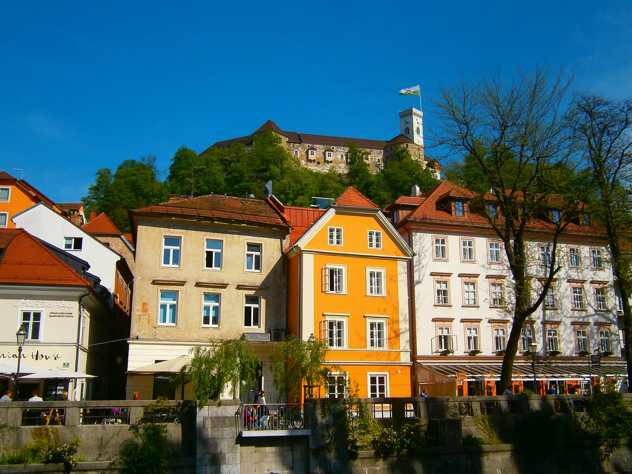a stroll down the beautiful city of ljubljana the capital of slovenia