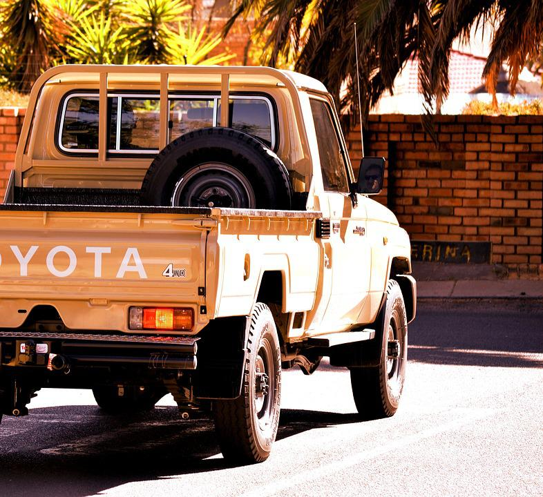 Auto, Jeep, Cesty, Land Cruiser, Na Ceste