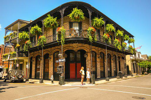 New Orleans Louisiana Usa Southern States