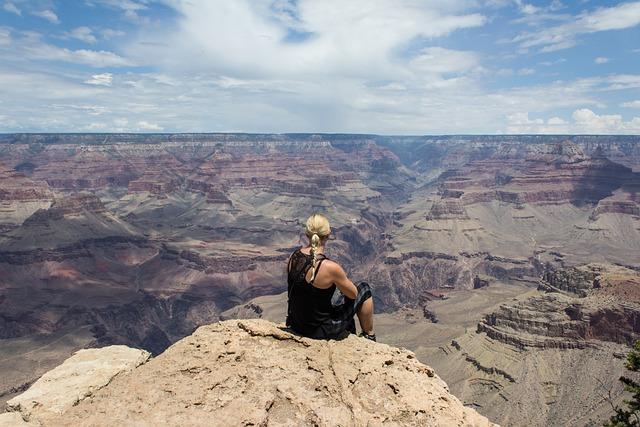free photo grand canyon girl view dream free image