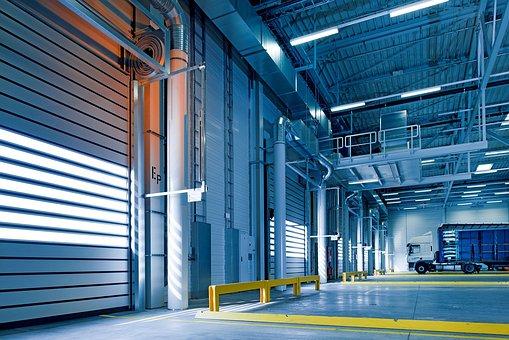 Hall Industriel, Toore, Entrepôt