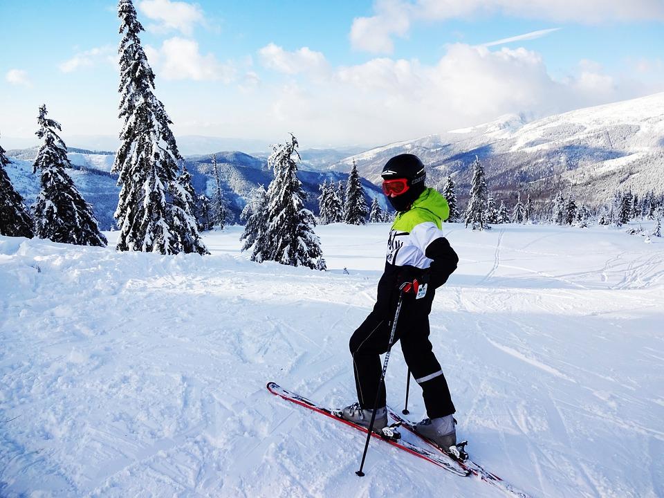 Skier, Winter, Skis, The Snow, Mountains, Slovakia