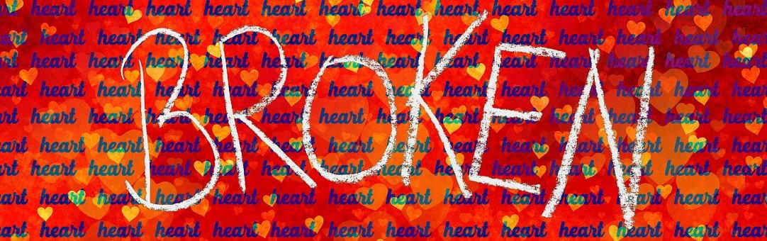 Heart, Broken, Love, Pain, Broken Heart