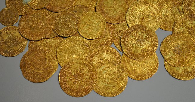 Gold, Coin, Museum, Treasure, Thaler