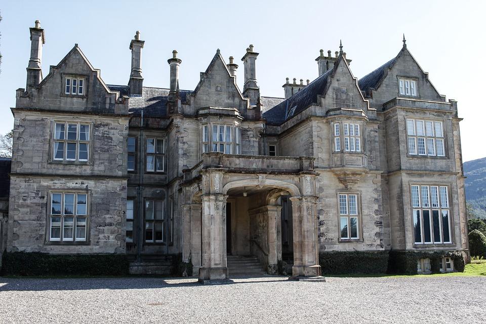 Irland, Haus, Anwesen