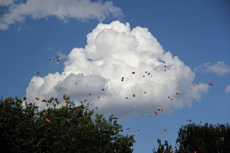 Konkurs Balon Gęsty Obłok Kolorowe - Darmowe zdjęcie na Pixabay