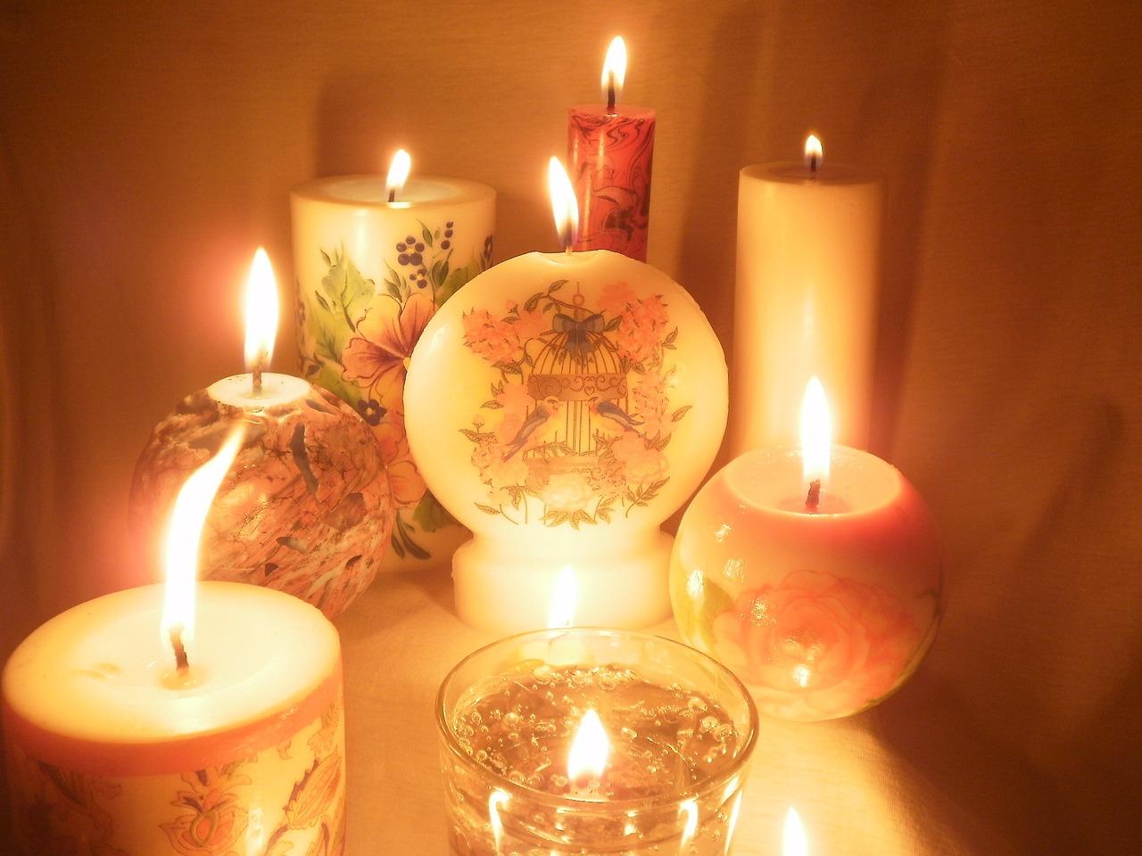 Подарки свечи с фото 694