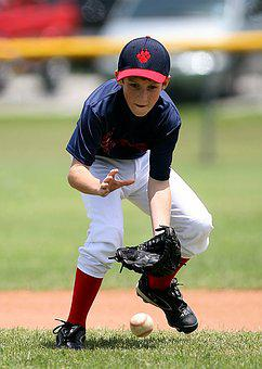 Baseball, Player, Action, Game, Sport