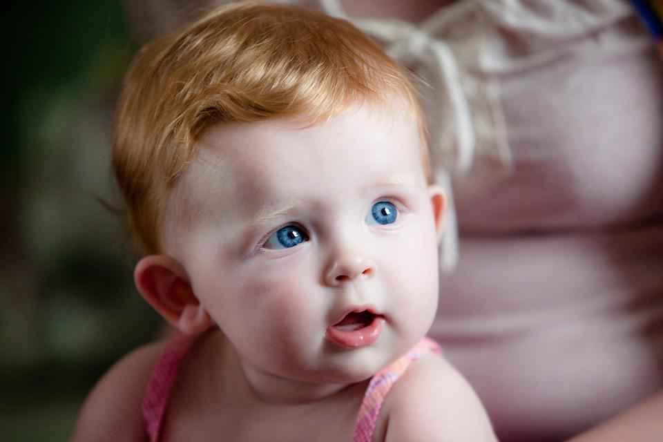 Red Hair Blue Eyes Baby 183 Free Photo On Pixabay