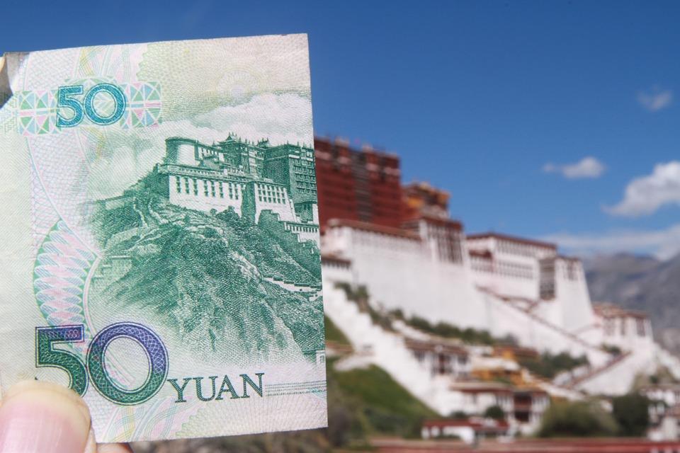 El Palacio De Potala, Renminbi, Coincidencia