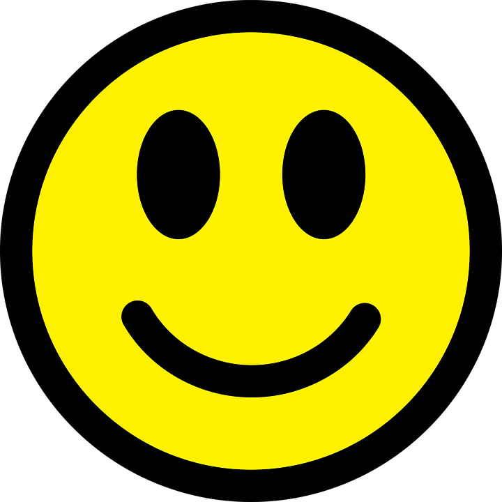 smiley emoticon happy free vector graphic on pixabay rh pixabay com happy face vector free download happy face vector free download