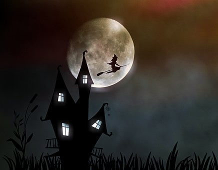 Witch'S House The Witch Moonlight Creepy H