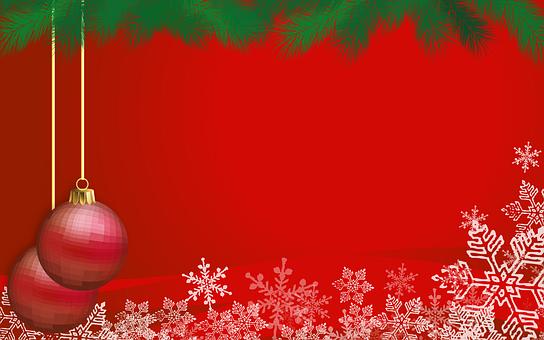 Christmas, Ball, Snowflakes, Snow