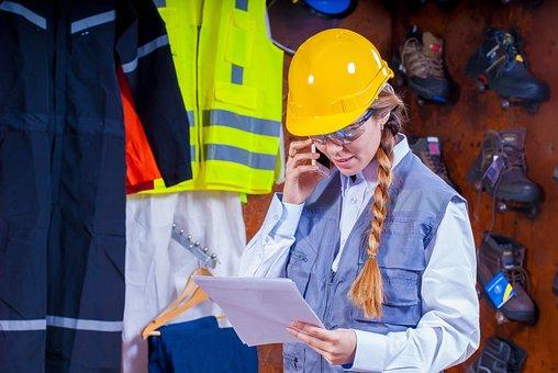 ヘルメット, 工業用, セキュリティ, ロジスティック, 作業服, 産業安全