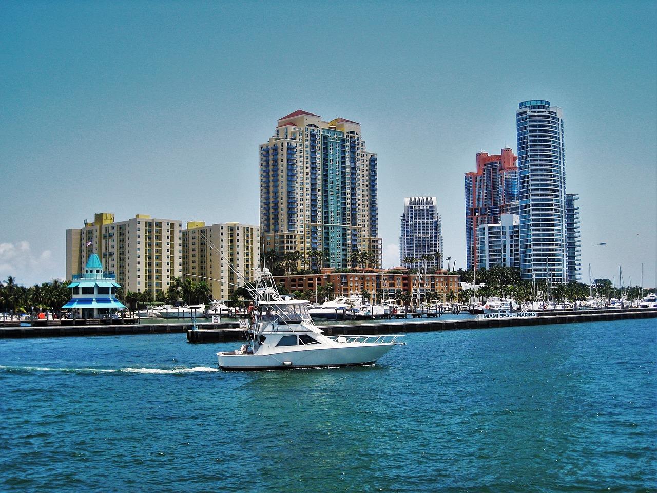 Miami Beach Marina Floride - Photo gratuite sur Pixabay