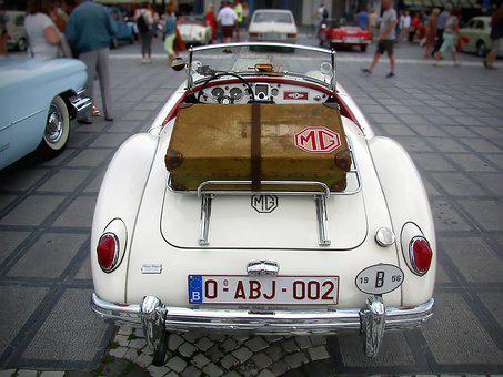 Oldtimer, Mg, Cabriolet, Classic