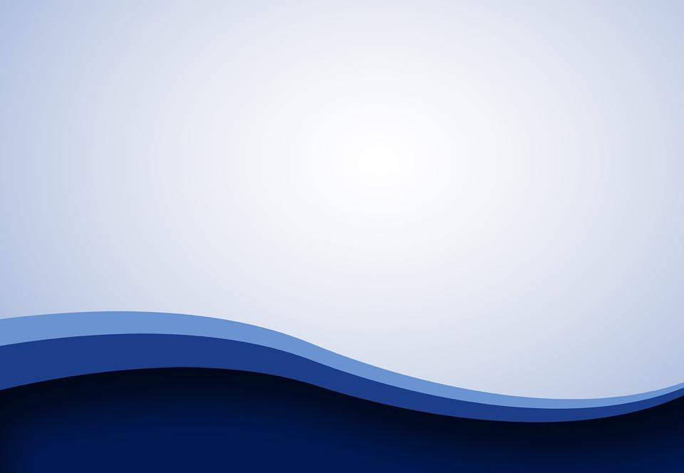 wave design blue background curve simple ocean