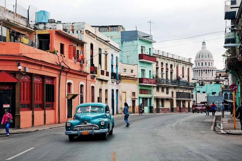 Kuba, Oltimer, Hawana, Stary Samochód, Klasyczny, Stary