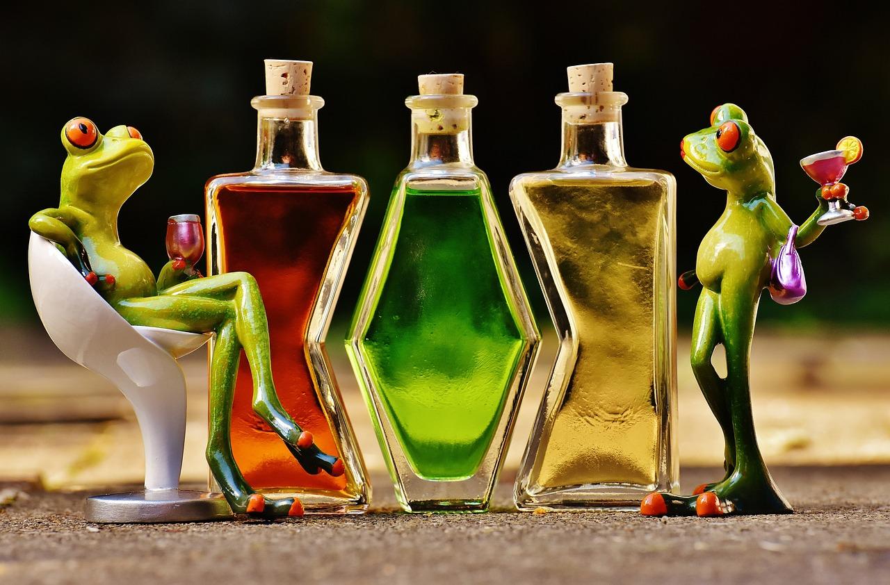 Надписью, картинка с бутылками