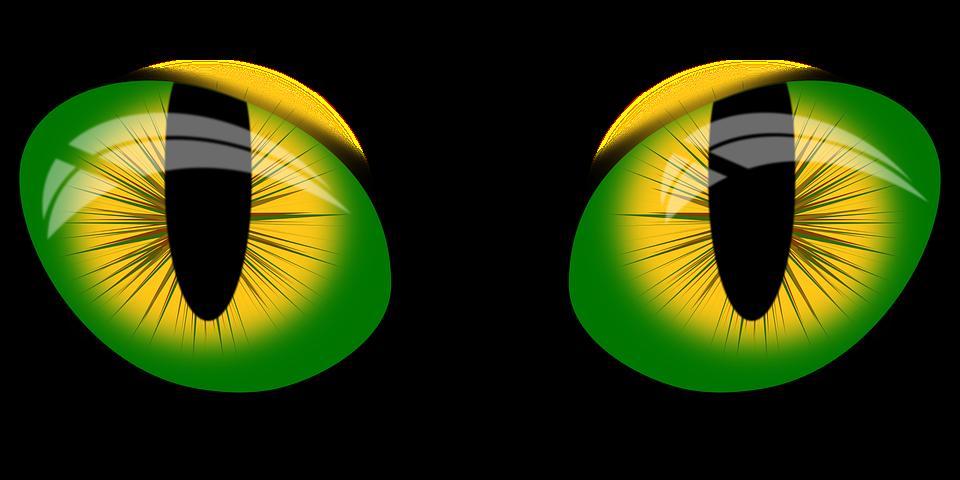 Vector Gratis: Vectores De Ojos, Ojos De Inkscape