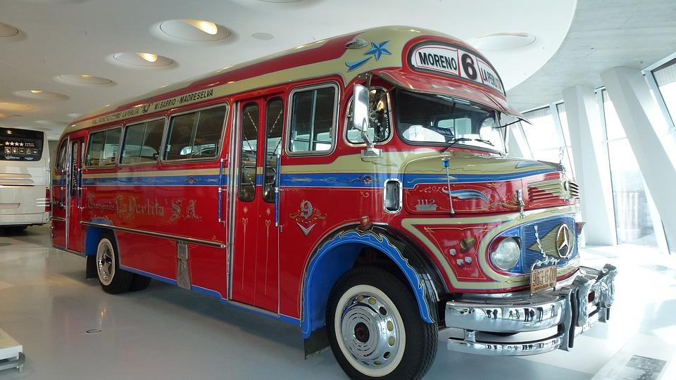 Mercedes Benz Bus Oude Gratis Foto Op Pixabay