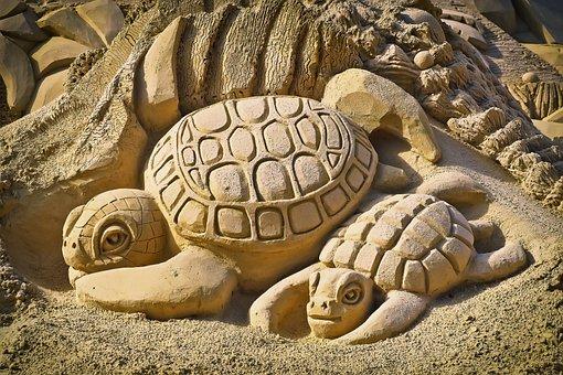 Sandburg, Art, Sand Sculpture, Sculpture