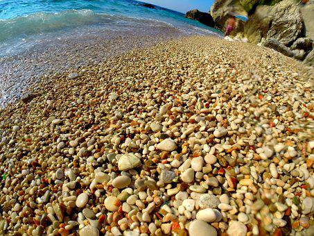 Rocks, Sand, Sea, Beach, Travel