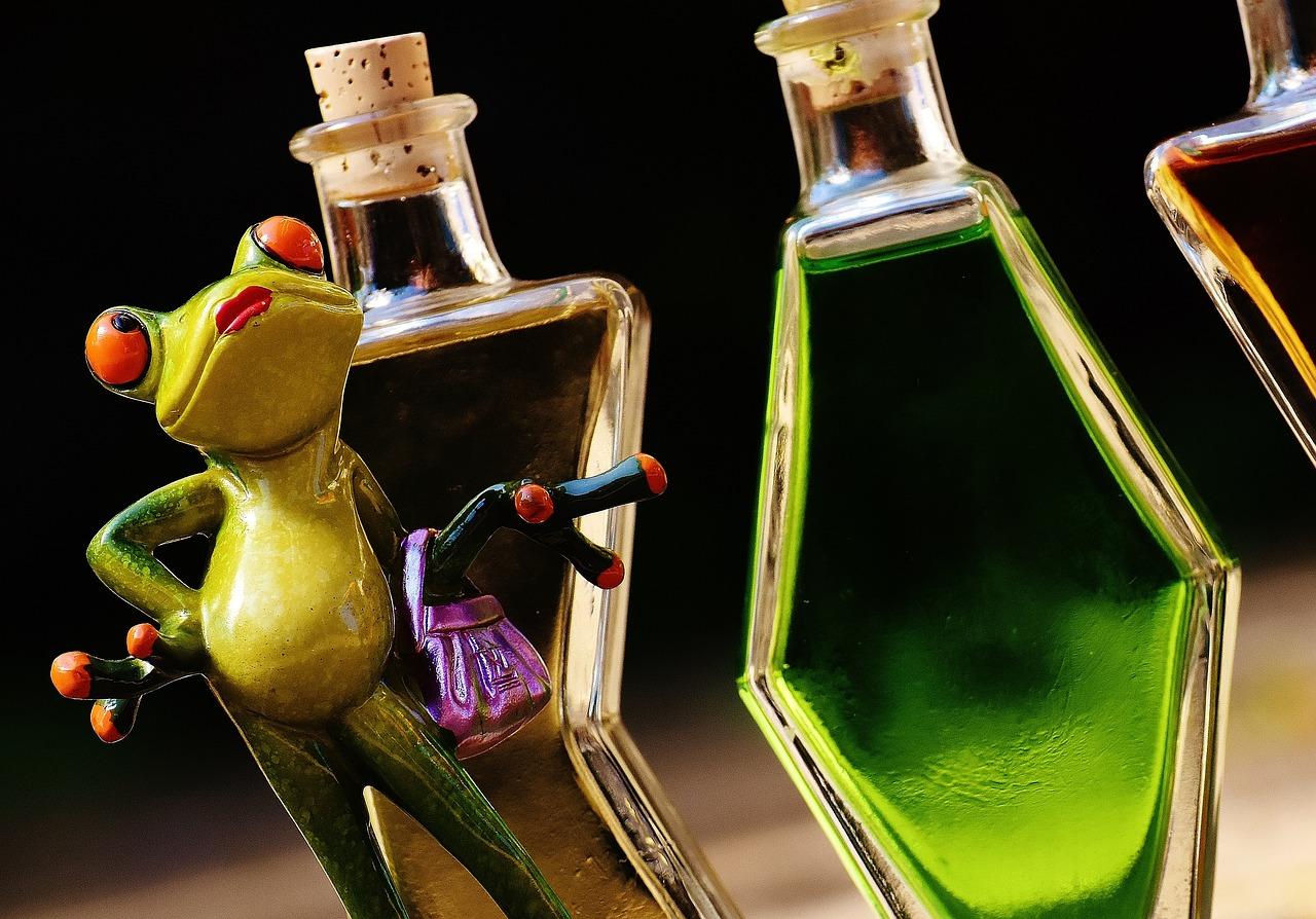 Открытки, прикольная картинка бутылки