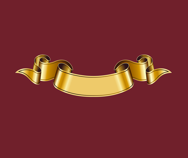 Gold Ribbon Heraldry 183 Free Vector Graphic On Pixabay