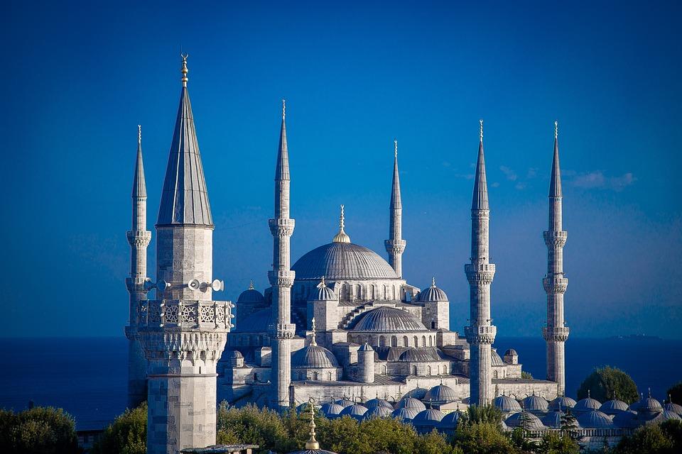 Kathedraal, Istanbul, Land Turkije, vakantie