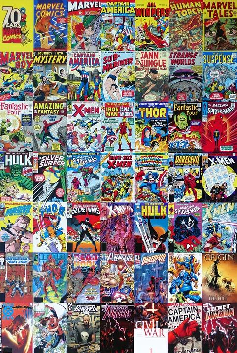 Marvel Comics Cartoon 183 Free Photo On Pixabay