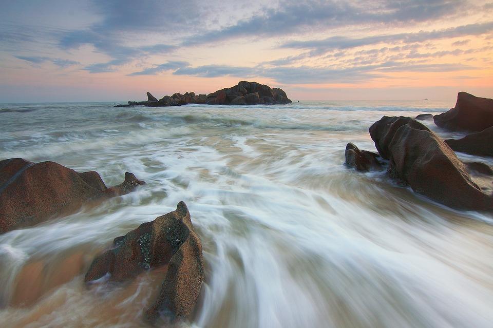 Agua De Movimiento Sunrise Paisaje Foto Gratis En Pixabay