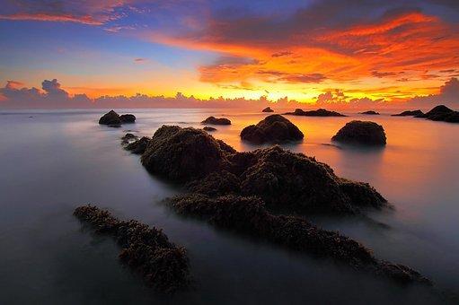 Přímořská Krajina, Východ Slunce, Moře