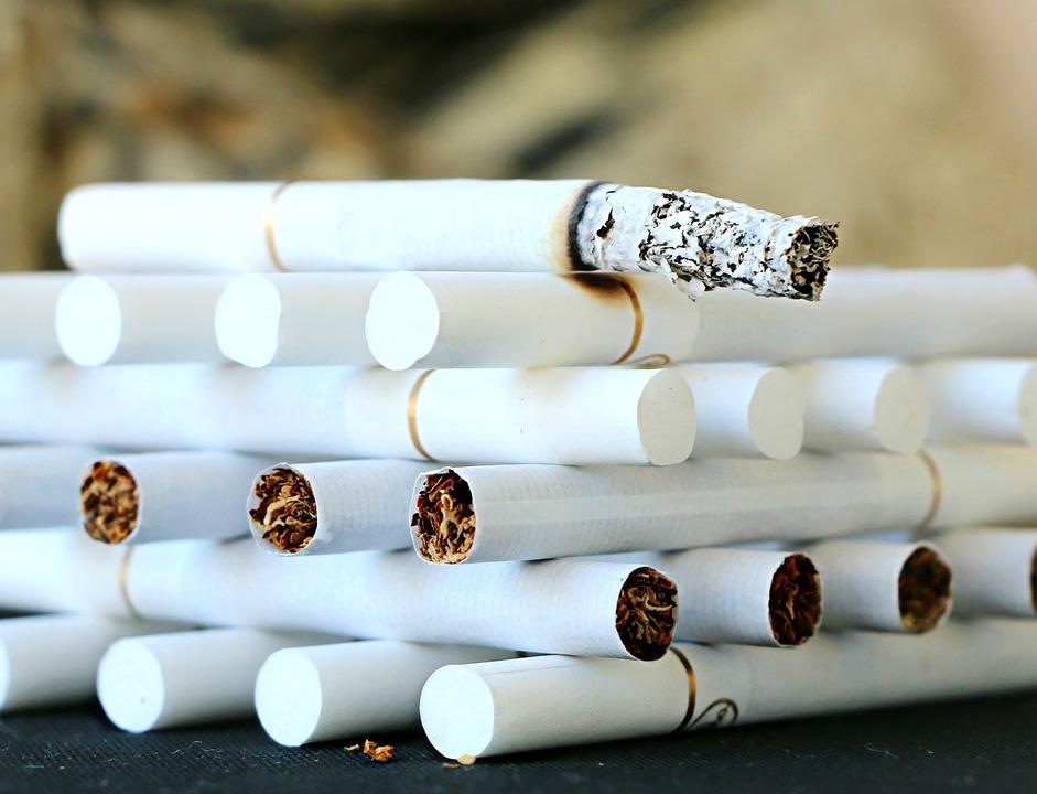 Cigaret, Rygning, Aske, Tobak