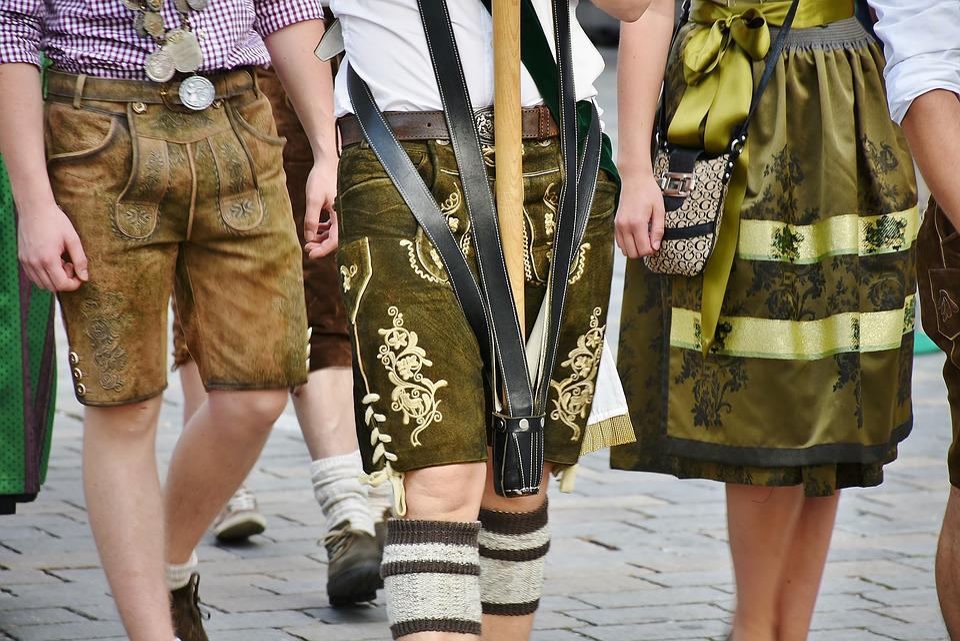 Lederhose, Tracht, Brauchtum, Mann, Tradition, Bayern